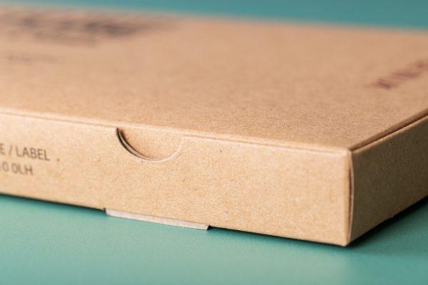 Kraft Cardboard Food Box Printing with Newton Print