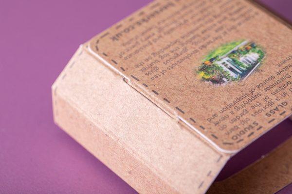 Custom Printed Food Sleeves with Newton Print