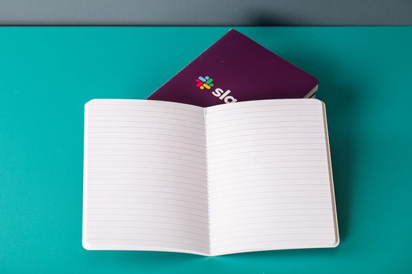 Singer sewn exposed thread book and brochure printing with Newton Print 3