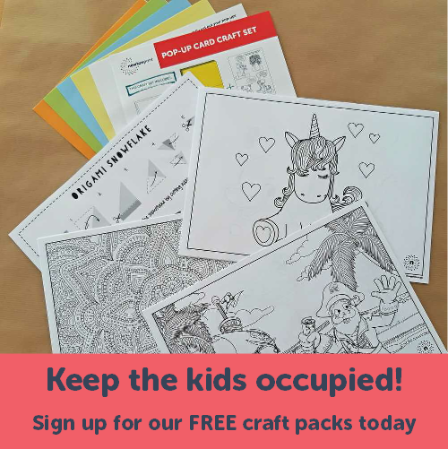 Free Craft Packs signup