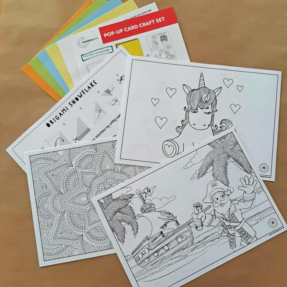 Free Craft Packs by Newton Print