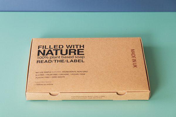 Kraft Eco Friendly Soap Packaging Printing UK