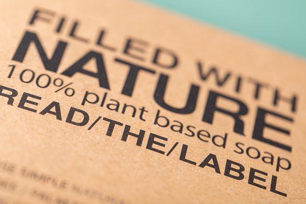 Kraft Biodegradable Eco Friendly Soap Packaging UK by Newton Print
