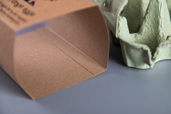 Custom Egg Box Printing on Kraft Recycled Bio-Degradable Board by Newton Print