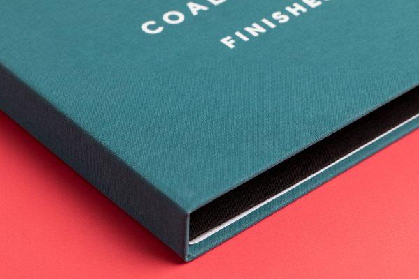 Coalbrook Sample Presentation Box Printing with Newton Print