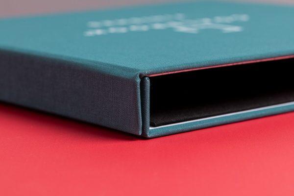 Coalbrook Sample Display Box and Folder Printing