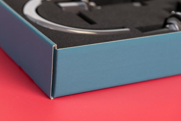 Coalbrook Sample Display Corrugated Box Printing with Newton Print