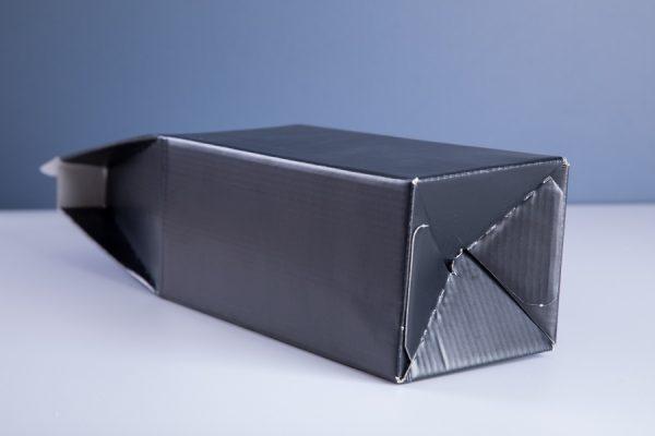 Crash Lock Box Packaging Printing with Newton Print