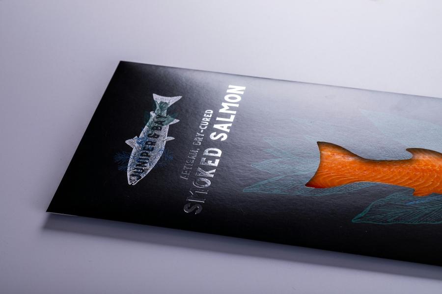 Juniper and Bay Smoked Salmon Wallet Printing with Newton Print