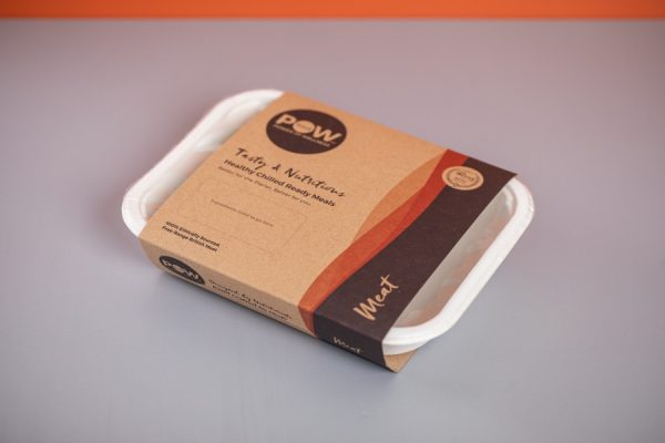 Ready Meal Sleeve Packaging Printing with Recycled Cardboard