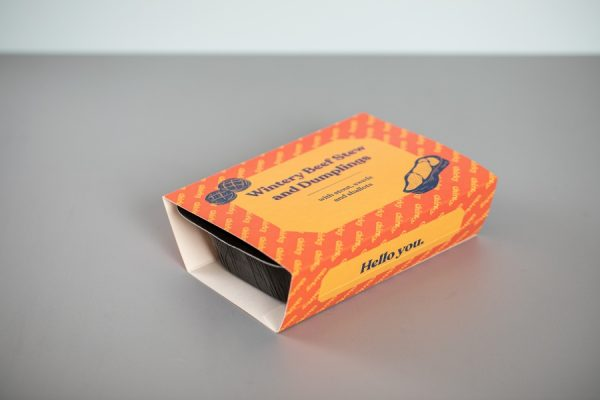 Ready Meal Food Sleeve Printing for Eat Chirky with Newton Print