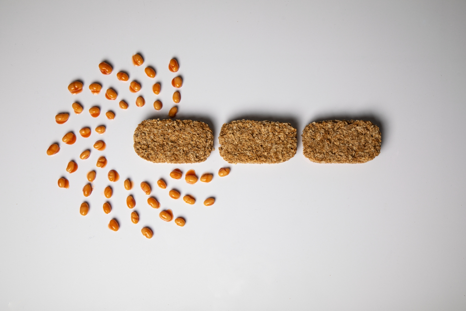 Our Logo… with Weetabix and Heinz Beans