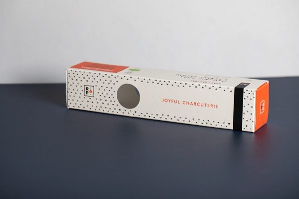 Rare and Pasture Salami Box Printing with Newton Print