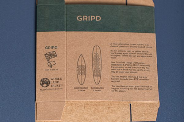 Brown Kraft Tuck End Box Packaging with Newton Print