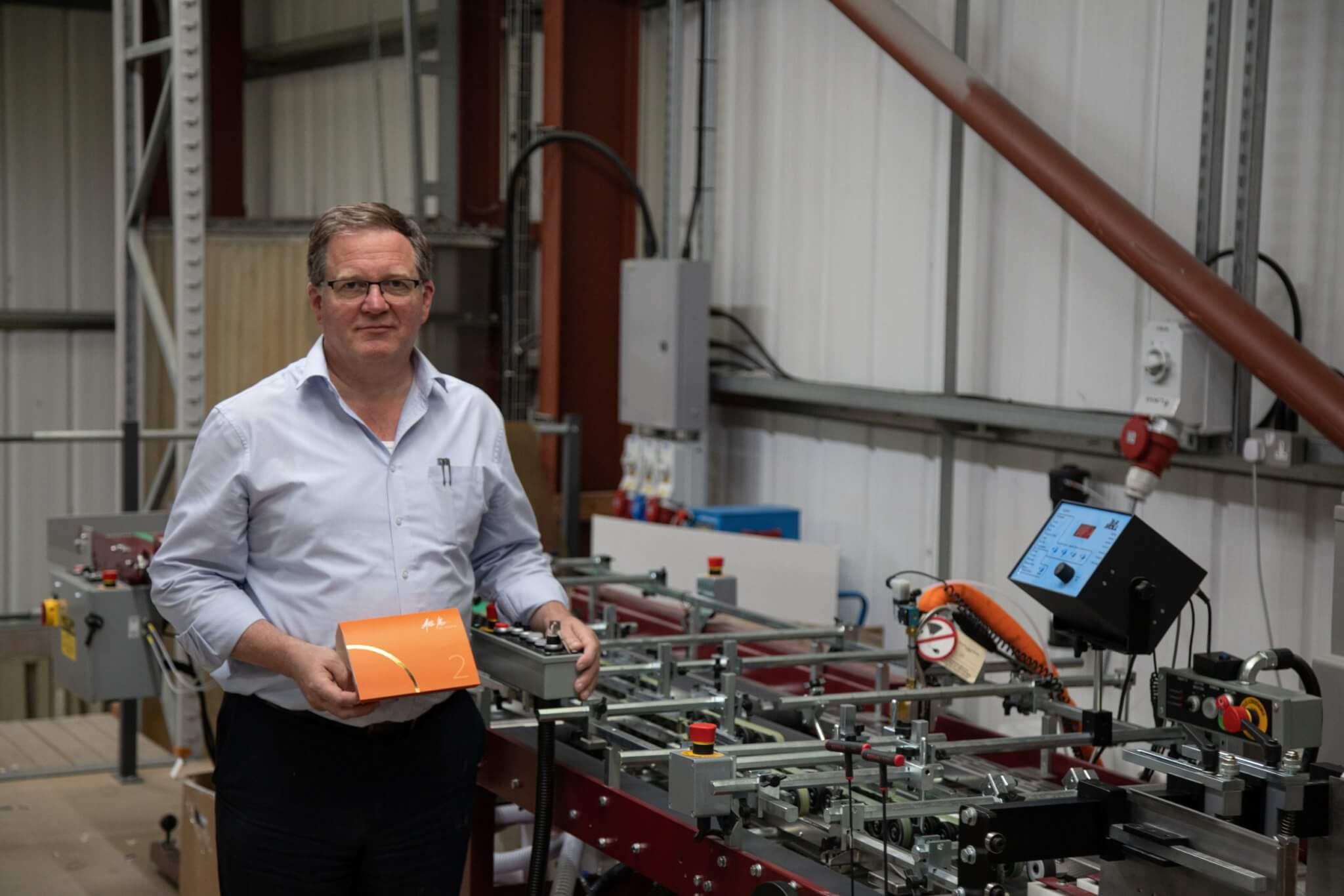 New £120K custom-built packaging production facility at Newton Print