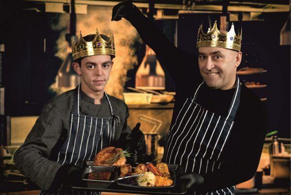 Roast Kings pub takeaway food packaging printing with Newton Print