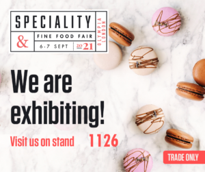 Olympia, London Speciality and Fine Food Fair September 2021