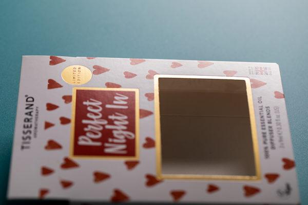 Tisserand custom retail box printing for essential oils with Newton Print
